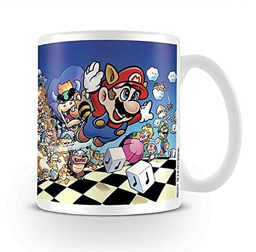 Taza Nintendo Super Mario Bros. - All Stars