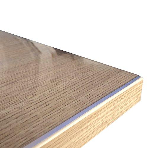 durchsichtige tischdecken Originale Tischdecke Tischfolie hochglanz abwaschbar maßangefertigt 80 x 80 cm (in allen Größen erhältlich) +