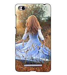 Fuson Designer Back Case Cover for Xiaomi Mi 4i :: Xiaomi Redmi Mi 4i (A Dancing Lady Garden)
