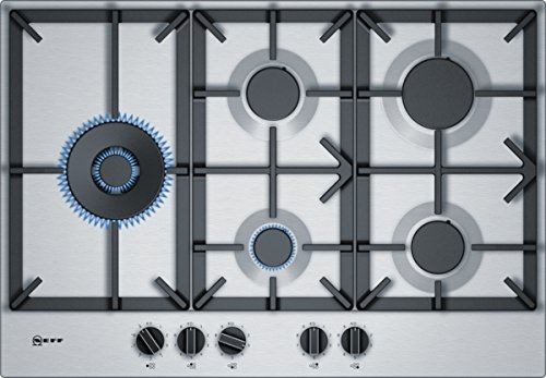 Neff tds2779 N Plaque (gaz/encastrement)/5 résistances/75 cm/Acier inoxydable