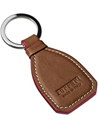 PIXLTOUCH Brown Leather KeyRing For Bikes Keychain Keychain || Keychain For Bikes Mens Boys