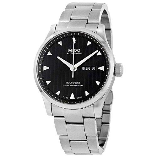 Mido Herren Analog Automatik Uhr mit Edelstahl Armband M0054311144100