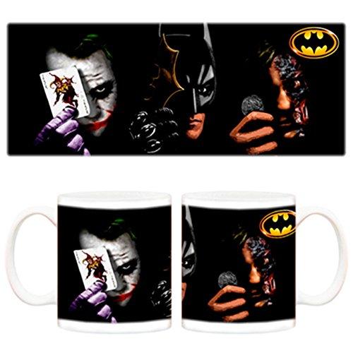 Taza Batman y Joker Cartas