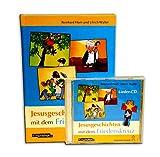 Gesù storie con la Croce di pace - Set: libro con CD - Target: asilo, scuola elementare, comuni, famiglia - 9783896172778