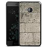 DeinDesign HTC U Play Hülle Case Handyhülle Beton Concrete Stone