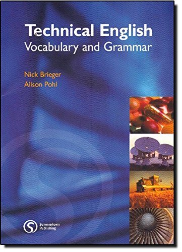 Portada del libro Technical English: Vocabulary and Grammar by Alison Pohl (2006-05-01)