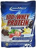 IronMaxx 100% Whey Proteinpulver – Vanille Eiweißpulver Whey für Proteinshake – Wasserlösliches Proteinpulver mit French Vanilla Geschmack – 1 x 2,35 kg Beutel