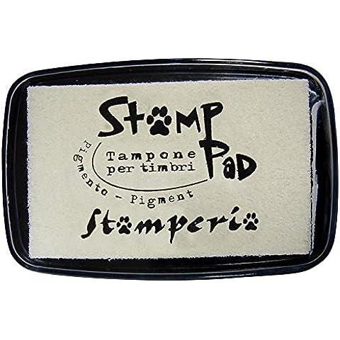 Cuscinetto inchiostrato 7.7x4.7 cm per timbri Avorio - Stamperia WKP10G