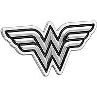 Fan Emblems Wonder Woman Logo emblème de voiture 3D Noir   Chrome, DC  Comics autocollant ab7160f687f
