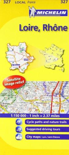 Loire, Rhone Michelin Local Map 327 (Michelin Local Maps)