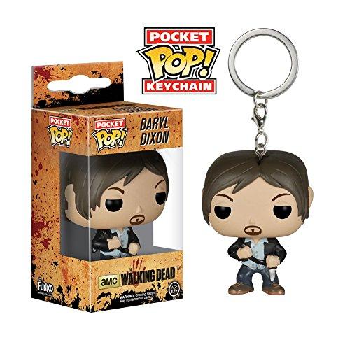 Funko POP Pocket Keychain The Walking Dead Daryl Dixon 4450 PDQ