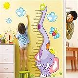LY-LD Kids Height Wall Chart Sticker-Creative Design umweltfreundliches Wasserdiagramm geeignet zur Dekoration von Kinderzimmern/Wohnzimmer