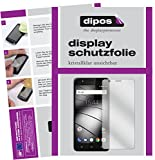 dipos I 2X Schutzfolie klar passend für Gigaset GS270 Folie Displayschutzfolie