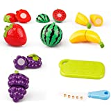 Venus Toys Fruit Cutting Pretend Role Play Tools For Kids,Food Cutting 9 Pcs Of Set