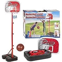 Inside Out Toys Set de Canasta de Baloncesto para niños - Sin fijación a la Pared y portátil