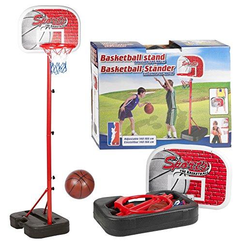 Inside Out Toys Set de Canasta de Baloncesto para niños - Sin fijación a la Pared y portátil 9
