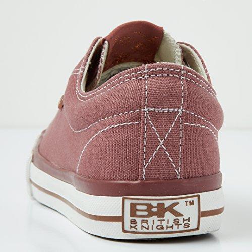 British Knights Master Lo Donne Bassa Sneakers MARSALA/ROSA