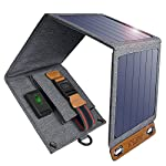 Solar Charger, CHOETECH 14W Waterproof Portable USB Outdoor Solar Panel Charger with 4 Foldable Solar Panel for… 9