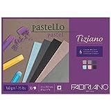 Unbekannt Fabriano Pastellpapier Blöcke, Baumwolle, Mehrfarbig, 21 x 29,7 x 0,5...