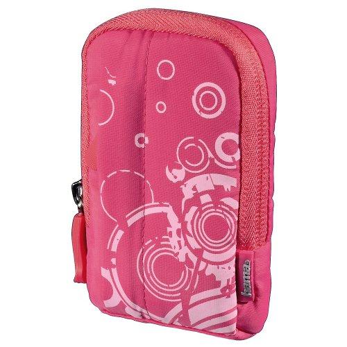 Hama Fancy Print 60L Kompaktkamera-Tasche pink