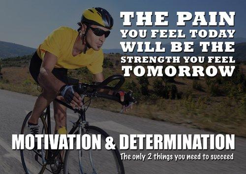 Hochglanzposter zur Motivation, 112, A4, Zitat