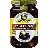 MaçaricoLas aceitunas negras Whole Galegas botella 350 g