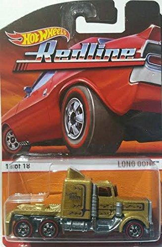 Mattel LONG GONE (18 of 18) * Redlines / Heritage Series * 2015 Hot Wheels 1:64 Scale Die-Cast Vehicle (Scale-2015 18 1 Diecast)