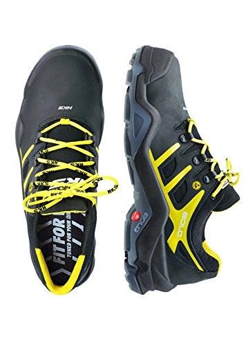 HKS , Chaussures de sécurité pour homme Noir/jaune/bleu nuit 45 noir/jaune