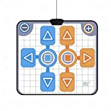 Double Person Dance Mat Dance Pad Non-Slip Dancing Blanket for Nintendo Wii Console Game, A, 1