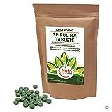 Espirulina Ecológica Comprimidos 500 x 500mg. Alga Pura Tabletas...