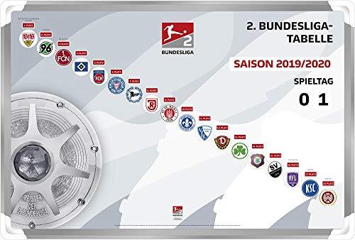 DFL Deutsche Fussball Liga 2. Bundesliga - Magnettabelle (2019-2020) -