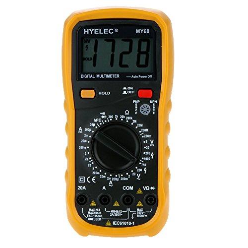 HYELEC MY68 multimetro digitale 4000 Conta AC / DC...