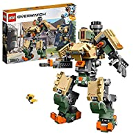 LEGO 75974 Overwatch Bastion Toy with Ganymede Figure