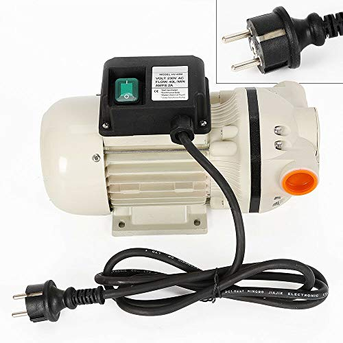 Fasspumpe Pumpe Membranpumpe,mit Kabel 1.8m,Ölabsaugpumpe selbstansaugend 34L/min 230V