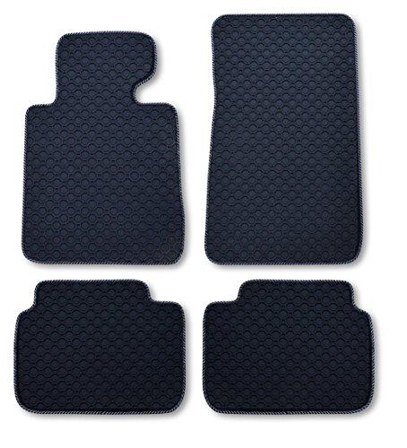 passform-gummimatte-fussmatte-octagon-mit-silber-schwarzer-bandeinfassung-passend-fur-infiniti-q-50-