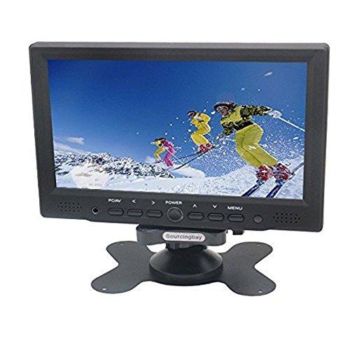 Sourcingbay 7 Inch Full Color Tft Lcd Car Rearview System Digital Display Monitor Mini PC - HDMI/VGA/AV Input