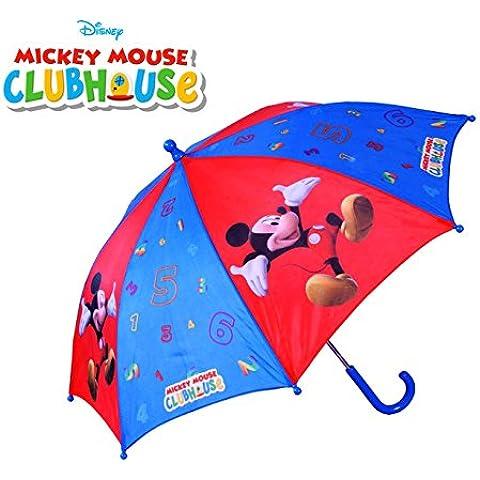 Ombrello per bambini da pioggia con stampa vari personaggi Disney