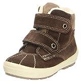 Superfit Kinder Klettstiefel Groovy 1-00307-11 ciok Kombi Velour Textil Tex 1-00307-11 Braun 335040
