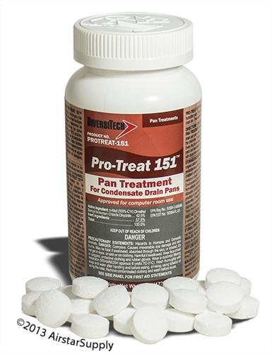 Pro-Treat® 151 Premium Drain Pan Treatment - 100 Tablets/Jar