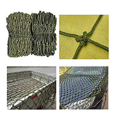 Balcony stairs child safety net Truck Net Cover Cargo Anti-fall Net Child Safety Net Balcony Protection Net Nylon Net Roof Ceiling Net Cargo Net 150 * 150mm Grid / 6mm Rope Thick Kindergarten decorati