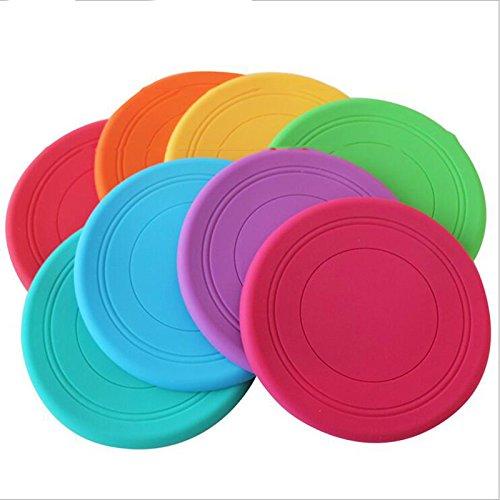 Wuudi Frisbee 4, Sport Supply Flying Disk Weich Silica… | 00191132189432
