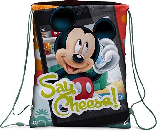 Star Disney Micky Maus & Freunde Kunst Code - 41415 Rucksäcke beidseitig Bedruckt, 32,5 x 43 cm