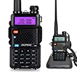 Mengshen Walkie Talkie UV-5R Radio Portátil (Doble Banda,...