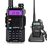 Mengshen Walkie Talkie UV-5R Radio Portátil (Doble Banda,...