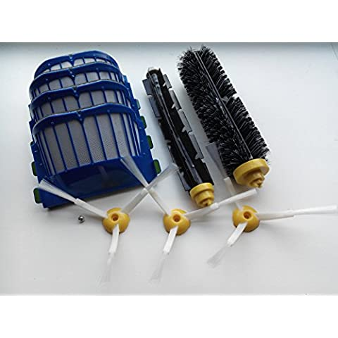 Grande set AeroVac–Spazzole Filtro e Kit di manutenzione per iRobot