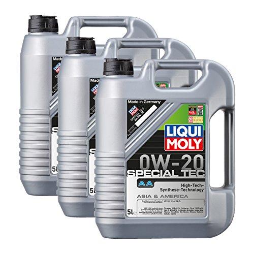 Liqui Moly 3X 9734 Special Tec AA 0W-20 Motoröl API SN ILSAC GF-5