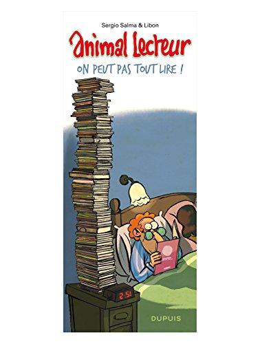 Animal lecteur, Tome 3 : On peut pas tout lire ! par Sergio Salma