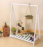 HR Massivholz-Blumen-Gestell-Suspendierung, die grünen Rettich-Innenfachboden-Ausstellungsstand klettert (Farbe : 2#-73x42x95cm)
