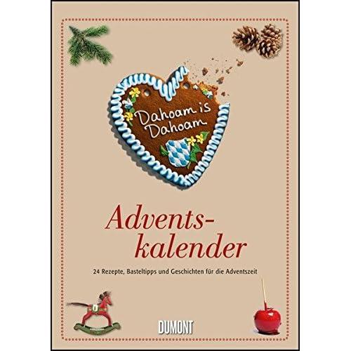 Dahoam is Dahoam Adventskalender - Wandkalender