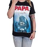 Ghost Papa Jaws - T-Shirt-Medium